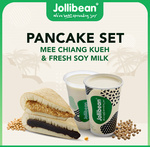 Mee Chaing Kueh and Fresh Soy Milk Set for $1.99 (U.P. $5) at Jollibean via Qoo10