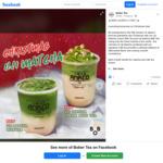 1 for 1 Christmas Uji Matcha Tea at Bober Tea