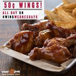 $0.50 Wings at Wing Zone (Wednesdays, 17th May to 28th June)