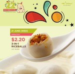 Mr Bean's 3-in-1 Rice Balls $2.20 Today Only (U.P. $2.60)