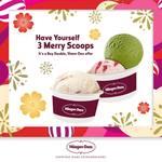 Buy a Double, Get a Bonus Limited Edition Flavour Scoop at Häagen-Dazs