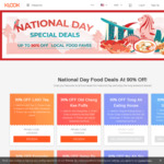 Klook National Day Food Deals - up to 90% off