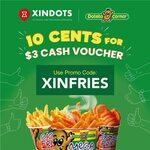 $3 Potato Corner Cash Voucher for $0.10 at Xindots