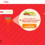 Win a 180 Day Viu Premium Subscription (20 Winners) or a $20 eatigo Cash Voucher (50 Winners) from eatigo