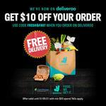 $10 off ($20 Min Spend) on 1st Order at Cold Storage/Giant via Deliveroo