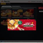 Pizza Hut Delivery - Free Trade up to Large Size with Purchase of Reg Pan Pizza
