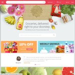 $5 off at RedMart for Existing Customers ($50 Minimum Spend)