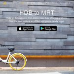 5 x $1 Ride Credit at oBike (Referral Code)