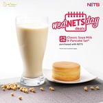 Classic Soya Milk and Pancake Set for $2 at Mr Bean [NETS/NETS FlashPay Payments]