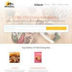 Old Chang Kee via foodpanda - Free Delivery on All Orders