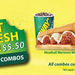 Six-Inch Sub and Drink $5.50 @ Subway