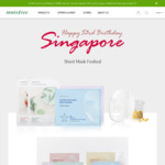 Buy 5 My Real Squeeze Sheet Masks at $10 and Get 3 Free (Aloe, Green Tea or Rice) @ Innisfree
