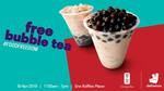 Free Gong Cha Bubble Tea from Deliveroo (One Raffles Place, Tuesday 30th April) [App Required]