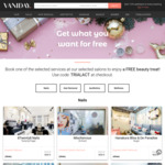 Free Selected Beauty Treatments @ Vaniday (New Customers)