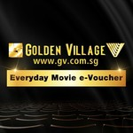 Golden Village Everyday Movie eVoucher for $9.80 at NPN via Shopee