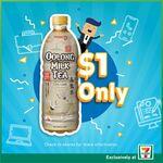 Pokka Oolong Milk Tea 500ml for $1 at 7-Eleven