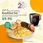 All-Day Breakfast Platter for $9.90 from Coffee Bean