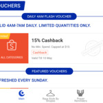 10% Cashback Sitewide at Shopee
