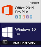 Microsoft Windows 10 Pro+Office 2019 Pro Plus Bundle Pack for US $45.5 (~S$61.06) @ Softkeyworld