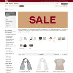 Muji Sale - Up to 70% Off e.g. Womens French Linen Blouse $11.70 (U.P. $39)