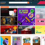 25% off for New Customers or 10% off for Existing Customers at Lazada