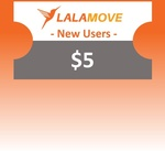 $1 for $5 off at Lalamove (New Customers) from shopee.lifestyle via Shopee
