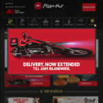 3 Regular Pizzas for $30 (U.P. $62.70) at Pizza Hut