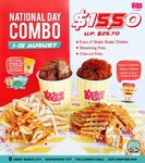 Shake Shake in A Tub Red-and-White National Day Combo $15.50 (U.P. $25.70) [Facebook/Instagram Required]
