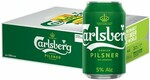 $43.66 Carlsberg Danish Pilsner Beer Pint (Pack of 24) from Changi Recommends