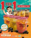 Monga Singapore: 1 for 1 Fruity Bubble Tea