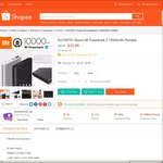 $14.90 for Xiaomi Mi Powerbank 2 10000mAh from accessories_sg at Shopee