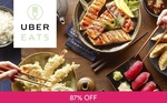 $15 off First Order at UberEATS for $2 via Fave by Groupon