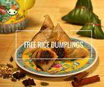 Free Traditional Rice Dumplings (U.P $2.50) from Kim Choo Kueh Chang via Lobang King Club App