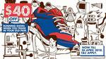 $40 off for Trading Old Shoe with New One at Royal Sporting House