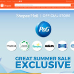 Up to 30% off Storewide + Extra $5 off ($30 Minimum Spend) with Promo Code at P&G via Shopee