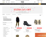 12.12 Special - Extra 24% Off @ Yoox