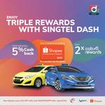 Triple Rewards When You Ride with Comfort and Pay with Singtel Dash