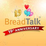 19th Anniversary Special: 3 Popular Buns for $5 @ BreadTalk