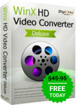 Free Get Winx HD Video Converter Deluxe ($59.95 Valued)
