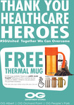 Free Kukeri 520ml Thermal Mugs (Worth $49.90) from OG for Healthcare Workers at Selected Hospitals