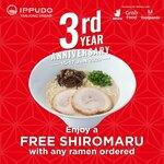 Free Shiromaru with Any Ramen Ordered at Ippudo, Tanjong Pagar (via Deliveroo, GrabFood and foodpanda)