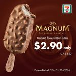 Streets Magnum (Assorted Flavours) - $2.90ea (U.P. $4.20) at 7-Eleven