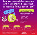Free Pancake Set from Selected Mr Bean Outlets (Complete IMconnected Speed Test)