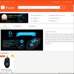 20% Off Storewide from Logitech.sg at Shopee