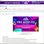 ezbuy 12.12 Offer - Free Agent Fees