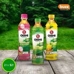 2x Bottles of Oishi Green Tea for $2 at Buzz Convenience Store