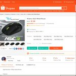 Alcatroz Asic3 Wired Mouse for $1.90 Delivered from 2morroit at Shopee