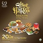 20% Off Hari Raya Goodies at PrimaDeli