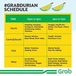 Box of Durian for $25 Delivered Via Grab (Sunday 13th August, 12PM to 7PM)