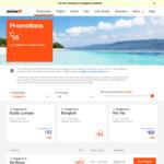 Singapore to Haikou $219, Sanya $209 Return @ Jetstar (Feb-March)